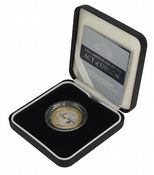 2007 Silver Proof Piedfort £2 Act Of union